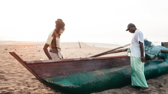 Kral • Photography » Projekt »Fischer in Rekawa