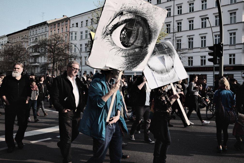 © Holger Kral • Photography - Gegen Mietwahnsinn - Berlin, Cityscape, Fujifilm X70, Germany, On my Doorstep - photo #4