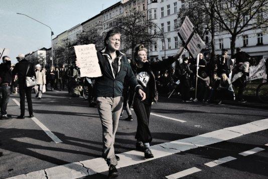 © Holger Kral • Photography - Gegen Mietwahnsinn - Berlin, Cityscape, Fujifilm X70, Germany, On my Doorstep - photo #5