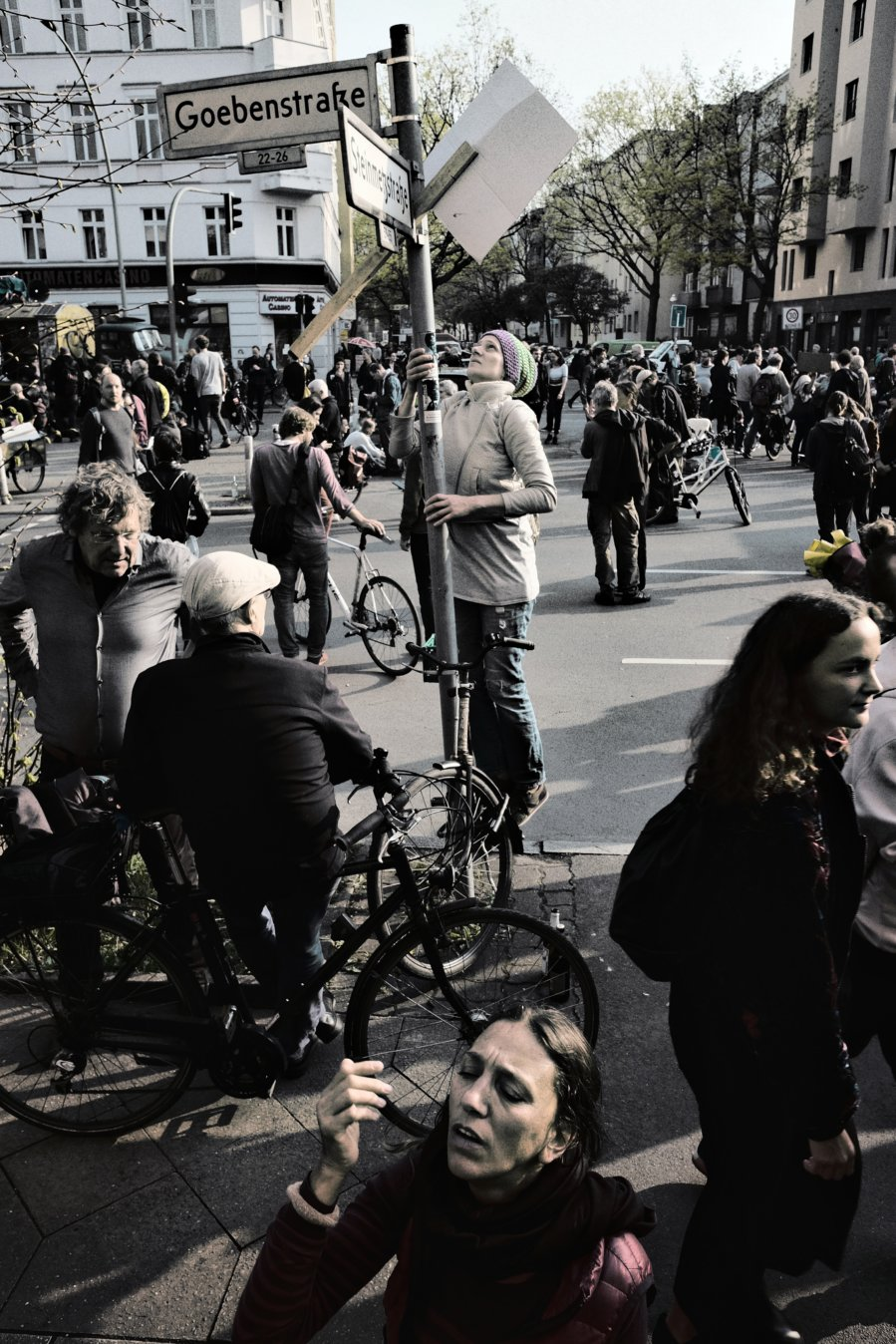 © Holger Kral • Photography - Gegen Mietwahnsinn - Berlin, Cityscape, Fujifilm X70, Germany, On my Doorstep - photo #6
